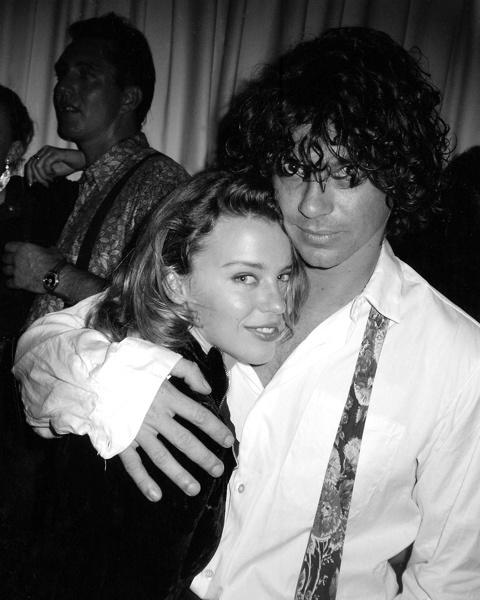 Kylie Minogue & Michael Hutchence, 1990