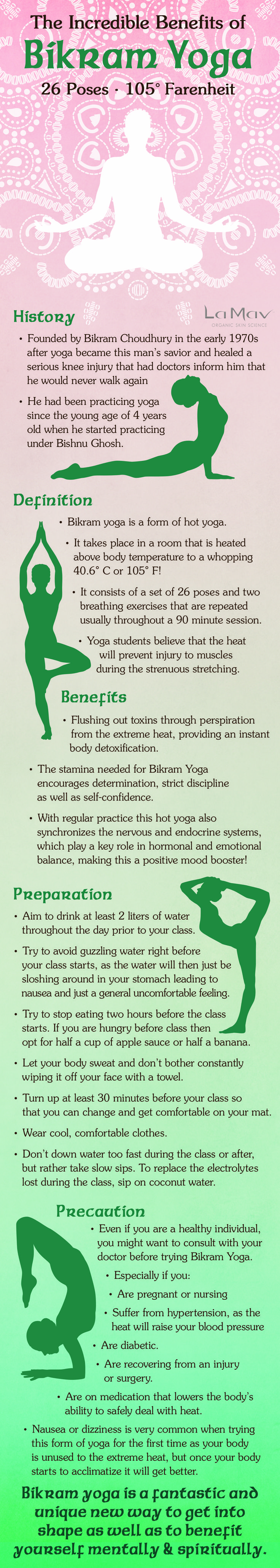 #BikramYoga - where it began,what it is, and the benefits #lamav http://www.lamav.com/incredible-benefits-bikram-yoga/