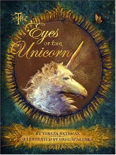 The Eyes of the Unicorn by Teresa Bateman, http://www.amazon.ca/dp/082341728X/ref=cm_sw_r_pi_dp_Cuzyrb0RGHNPR