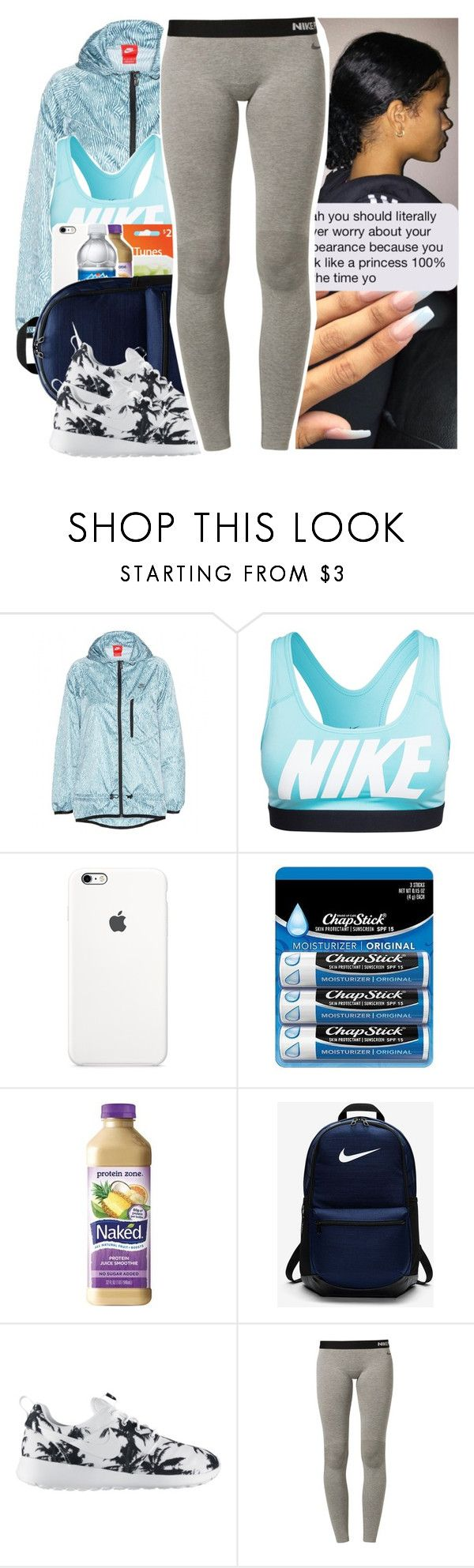 """"""""""" by l-ondonbridge ❤ liked on Polyvore featuring NIKE, Chapstick and Zone"""