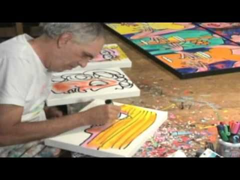 James Rizzi video clip, not all in english but good visuals