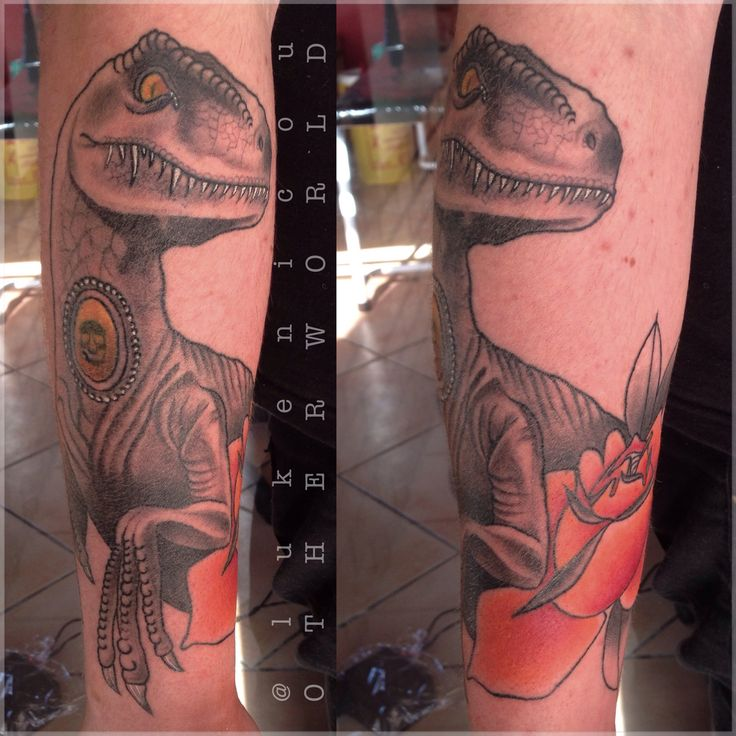 Raptor from Jurassic park