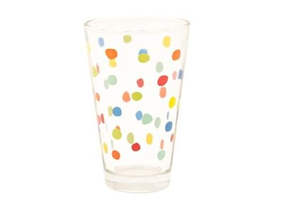 Cheers with your polka dot high ball cups. Garden friendly.