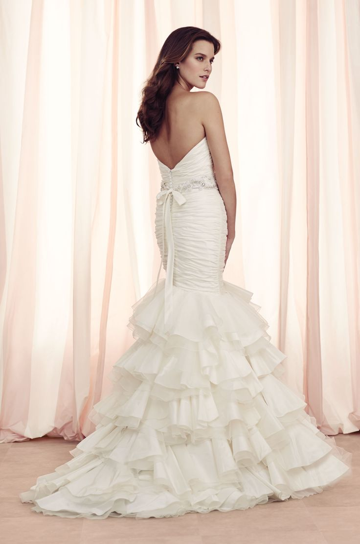 22 Best Images About Ruffled Gowns Paloma Blanca On