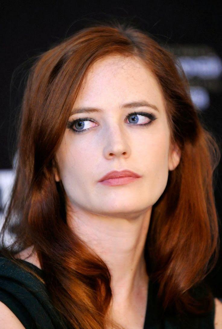eva green red hair - Google Search