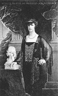 Rebeca Matte Bello (Santiago, 29 de octubre de 1875 - París, 15 de mayo de 1929).