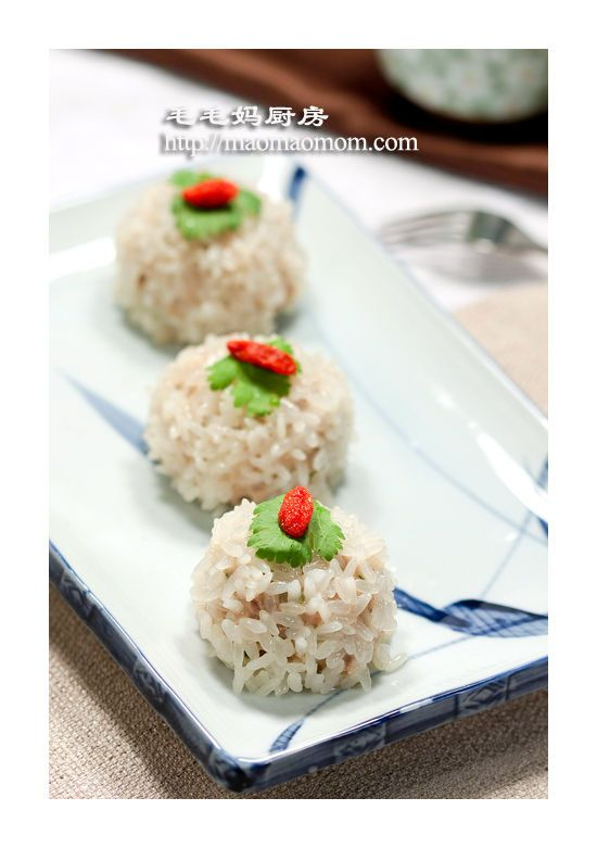 【珍珠丸子】   MaomaoMom Kitchen 毛毛妈厨房
