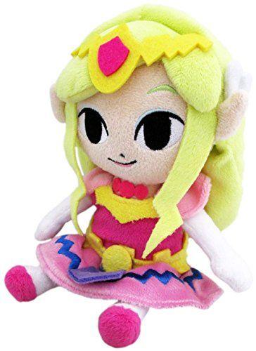 "Sanei The Legend of Zelda The Wind Waker 7.5"" Princess Zelda HD Plush Sanei http://www.amazon.com/dp/B00HX50NJI/ref=cm_sw_r_pi_dp_q2egwb01ER2XS"