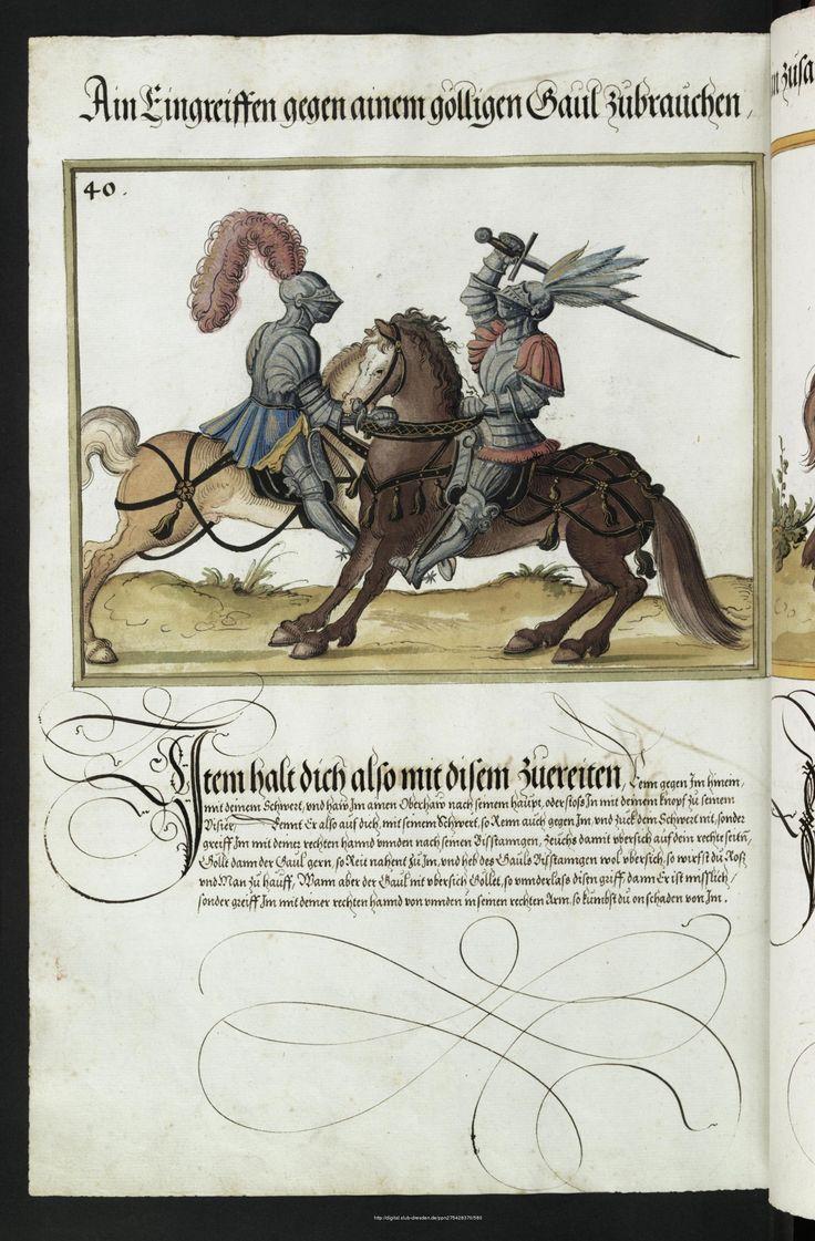 SLUB Dresden: Werkansicht: Mscr.Dresd.C.94Fecht-, Ring- und Turnierbuch - Mscr.Dresd.C.93/94