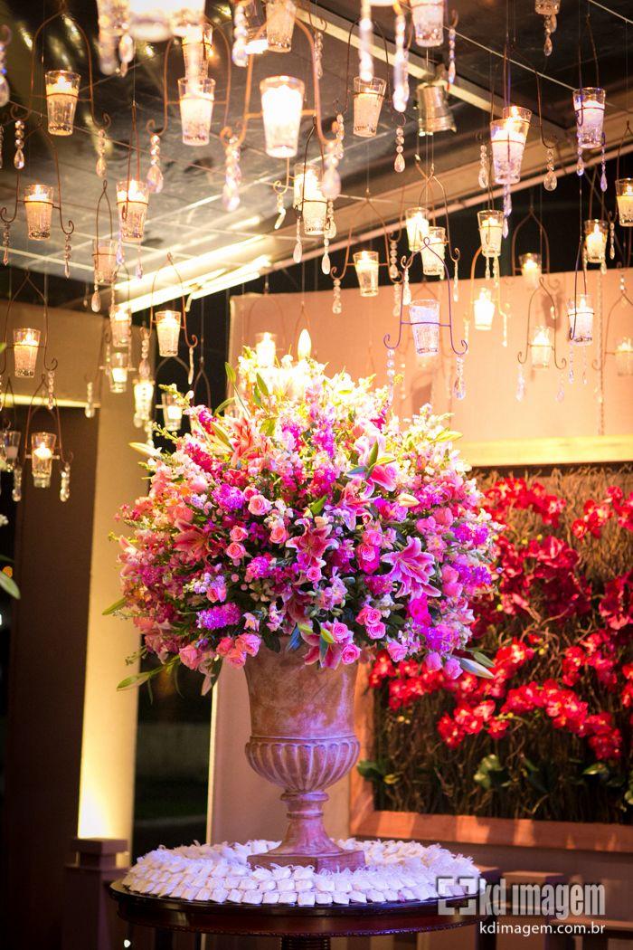 Decoração de Casamento Pink: www.pegueiobouquet.com