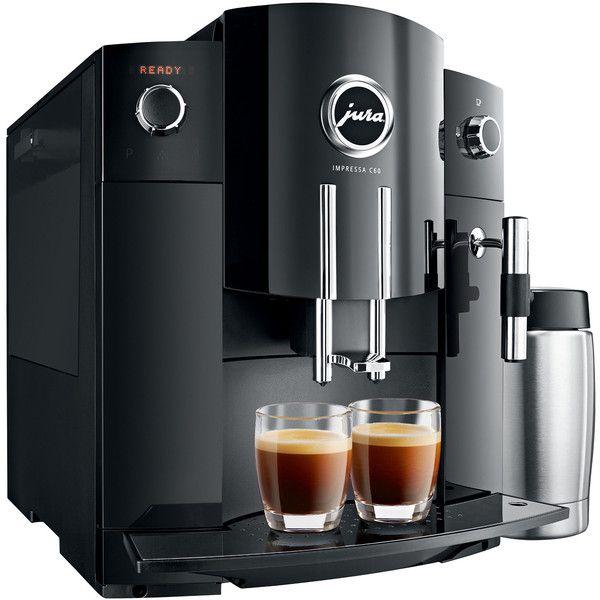 Jura IMPRESSA C60 Single-Serving Coffee Maker; single serve coffee brewer, jura coffee machine
