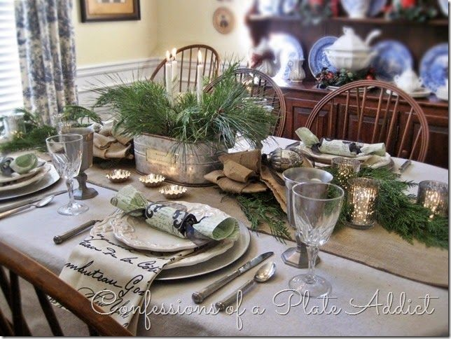 confessions of a plate addict bonne annea country french new year - Tablescapes