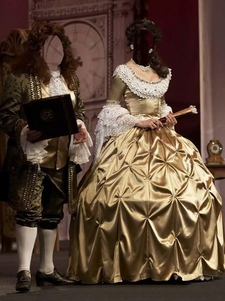 Исторические костюмы шаблоны для фотомонтажа