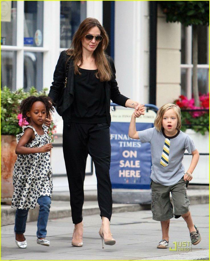 Shiloh Jolie-Pitt in her CHOOZE shoes!