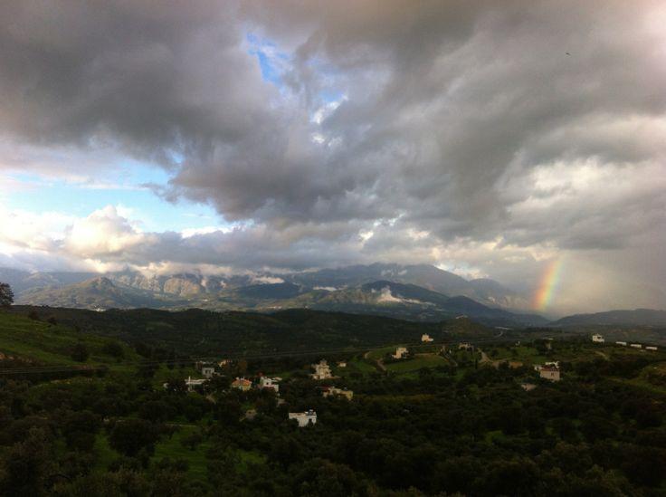 Storm clouds over Psiloritis. Crete