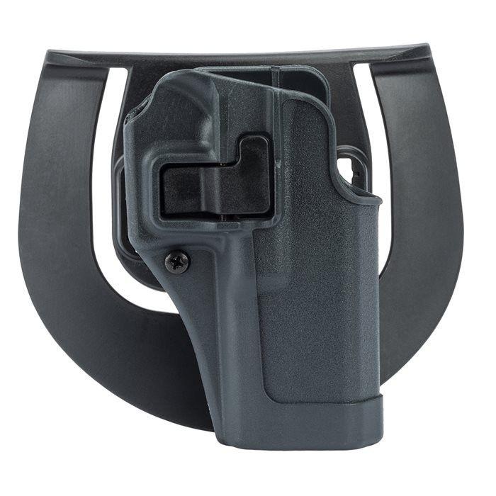 BlackHawk SERPA Sportster Belt Holster, Fits Glock 17/22/31, Right Hand, Gray Finish