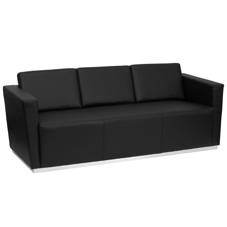 Die besten 25+ Contemporary leather sofa Ideen auf Pinterest - wohnzimmer ideen mit brauner couch