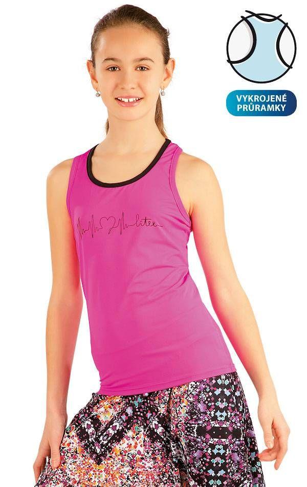 Litex Sportswear Meisjes hemd.