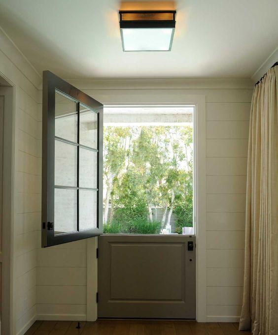30 best doors windows images on pinterest front doors for Kitchen back door with window