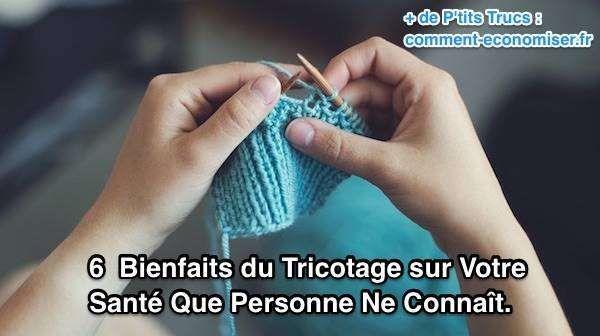 faire du tricot est bon pour la santé
