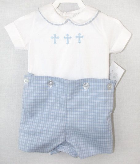 291907 Baby Boy Baptism Suit Baby boy Clothes Baby by ZuliKids