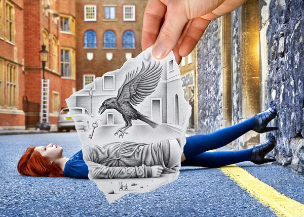 Ben Heine's Awesome 'Pencil vs. Camera' Project