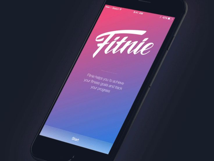 Here is an animated walkthrough for Fitnie app, where you can know more about key features of the application.  Full pixels attached :)