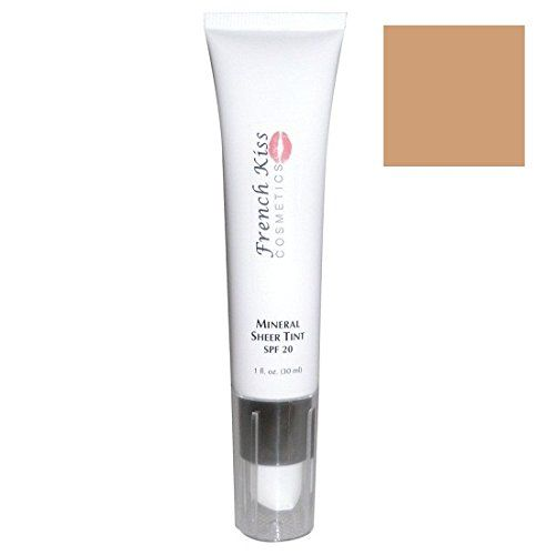 French Kiss Cosmetics Mineral Sheer Tint Natural Glow SPF 20 1oz ** To view further for this item, visit the image link.