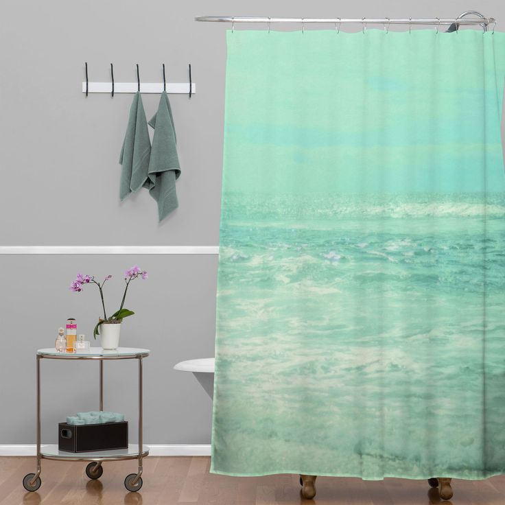 Beautiful Kids Ocean Shower Curtain Crest Custom Bathtubs