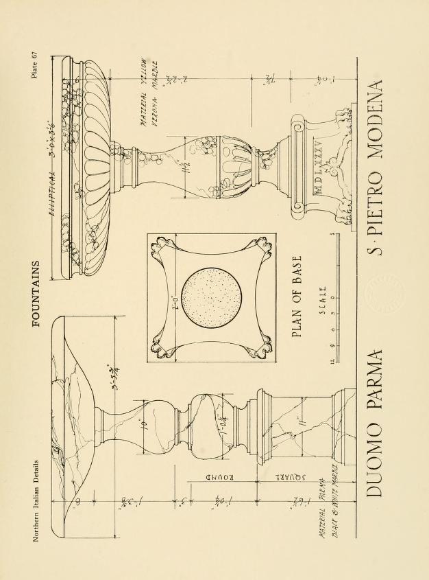Northern Italian details;