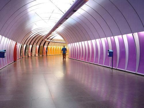 #sephoracolorwash Metrô Rio de Janeiro Copacabana Subway Copacabana Estação Cardeal Arcoverde station Metrô metrorio tunnel túnel by SeLuSaVa, via Flickr