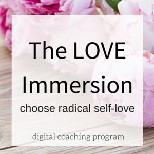 The LOVE Immersion | www.theloveimmersion.com
