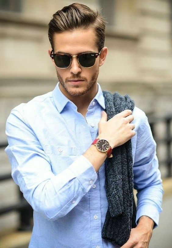Side Parting hairstyle is a favorite for guys with a more serious dressing style. In the gallery bellow you will see that this celebrity special hairstyle. #men'shairstyles