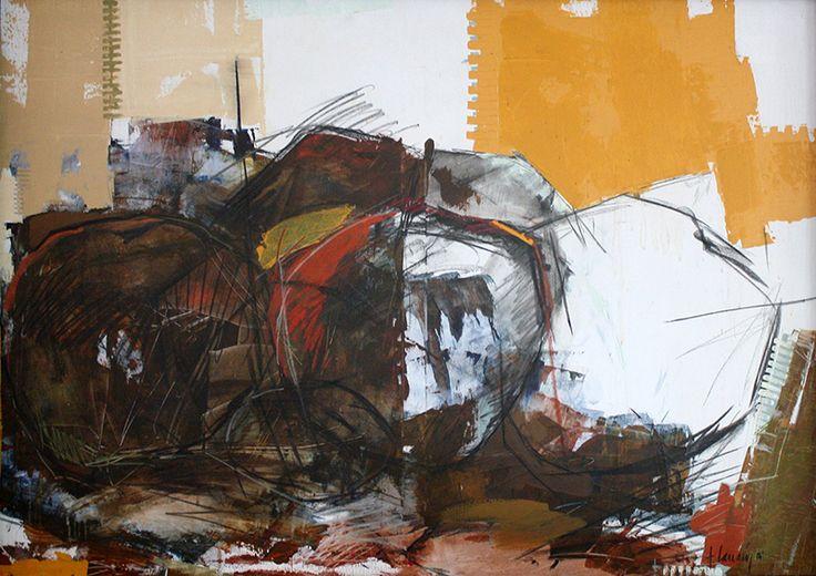 """""""Serie Rocas"""" por Adriana Larraín #Hsm #Chile #ViñadelMar #Chile #Arte #Pintura #Turismo #HSMChile"""