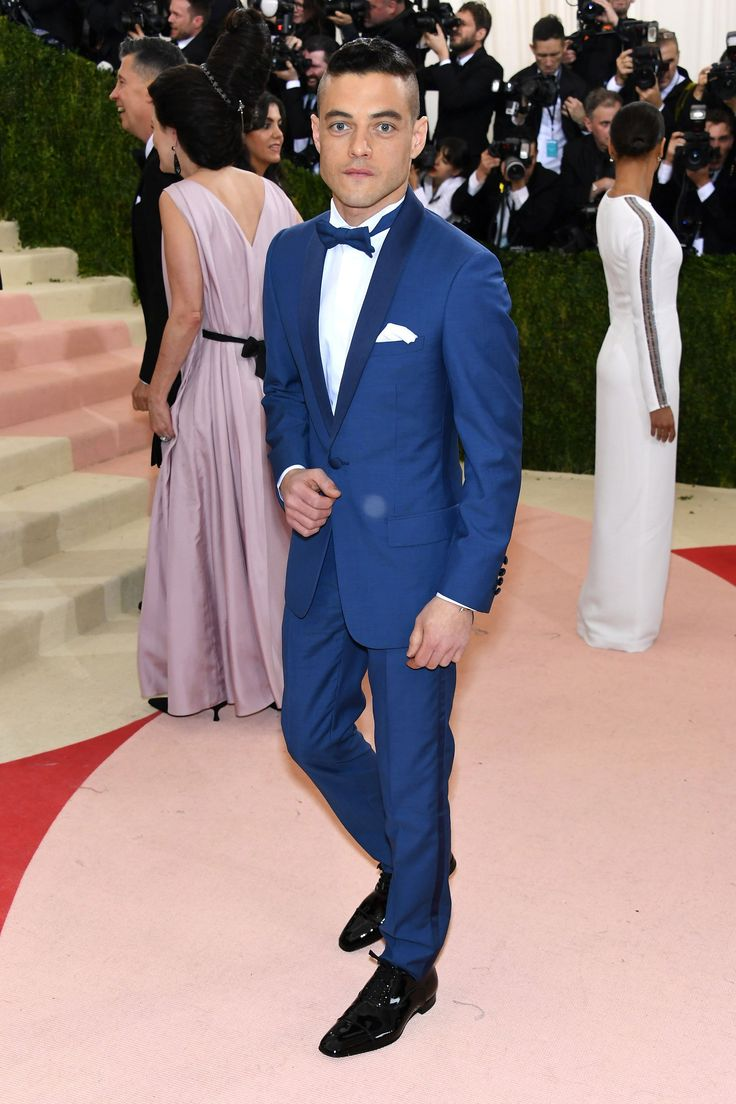 2016 MET Gala 'Manus x Machina: Fashion in an Age of Technology' - Rami Malek in Dior Homme