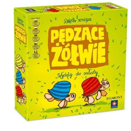 """Witajcie, dzisiaj wyścig po """"sałatę"""":)     Gra planszowa Pędzące Żółwie od Egmont dla dzieci od lat 5 dla 2-5 graczy, czas gry około 20 min.    Celem jest doprowadzenie swojego żółwia do grządki sałaty.     Gracze mają do dyspozycji specjalne karty, za pomocą których żółwie przemieszczane są po trasie wyścigu.    Zaczynamy:)    http://www.niczchin.pl/gry-planszowe/3501-gra-planszowa-pedzace-zolwie-egmont.html    #pędząceżółwie #graplanszowa #egmont #gry #niczchin #kraków"""