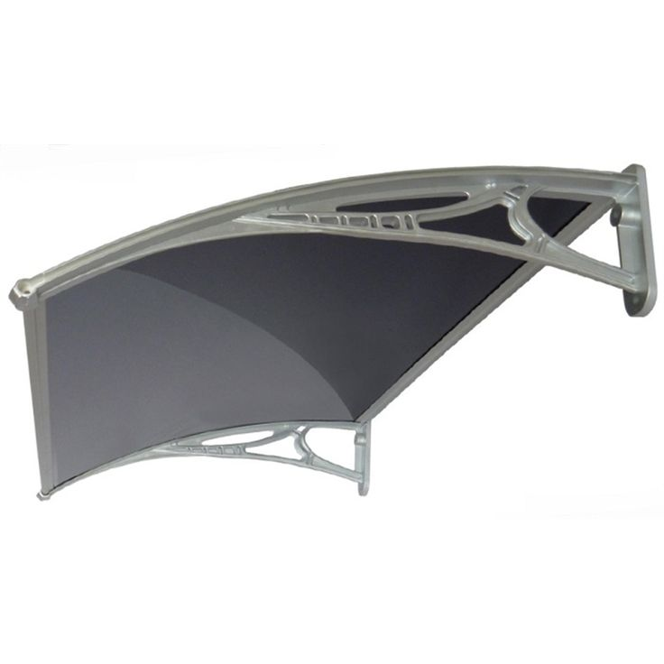 Altamonte 1200 x 700mm siena tinted canopy with plastic