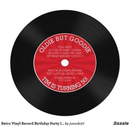 Trendy Music Party Invitations Vinyl Records 29 Ideas