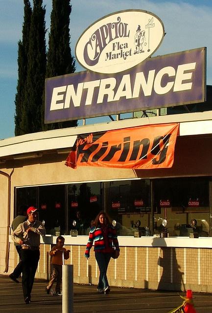 Capitol Flea Market......San Jose, California