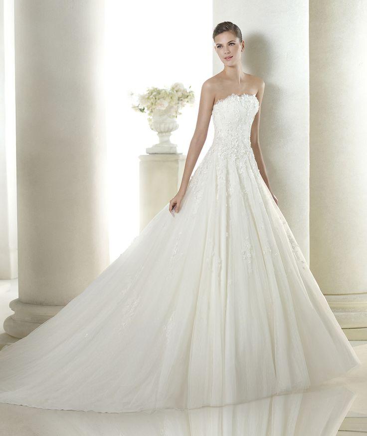 St Patrick Wedding Dress Sauville Style Glamour St Patrick V Neck ...
