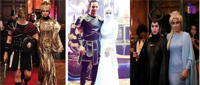 6 Gambar gaya selebriti di Malam Gala Fantasi anjuran Datuk Aliff Syukri Terlajak Laris