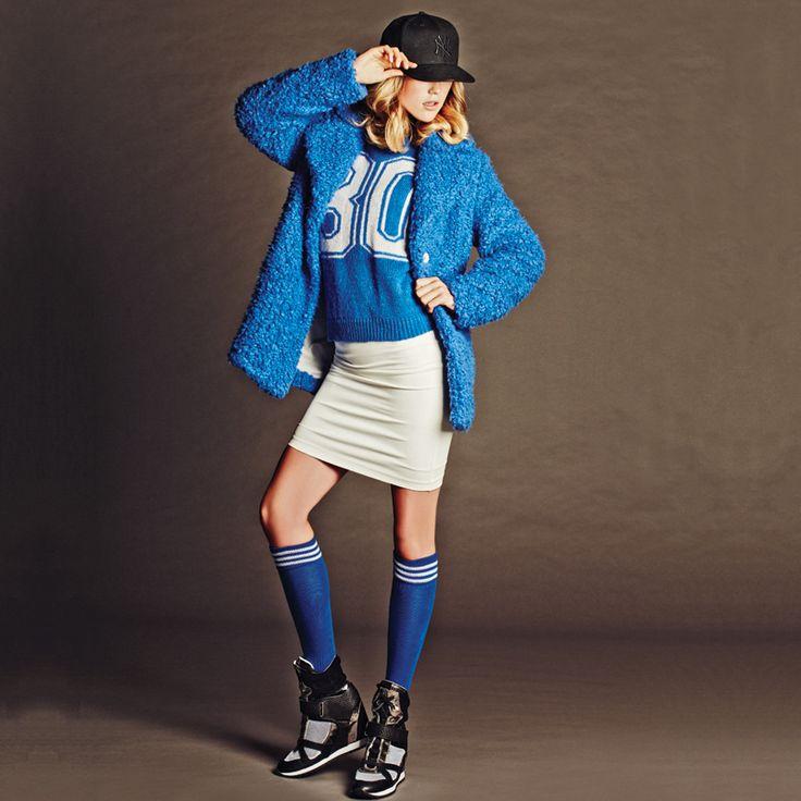 #blue #coat! #BSB_FW14
