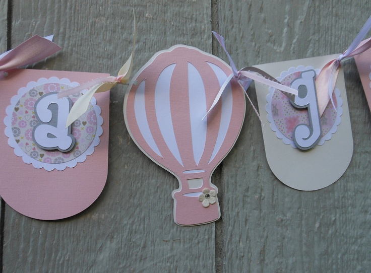 1000 images about hot air balloon on pinterest for Balloon banner decoration