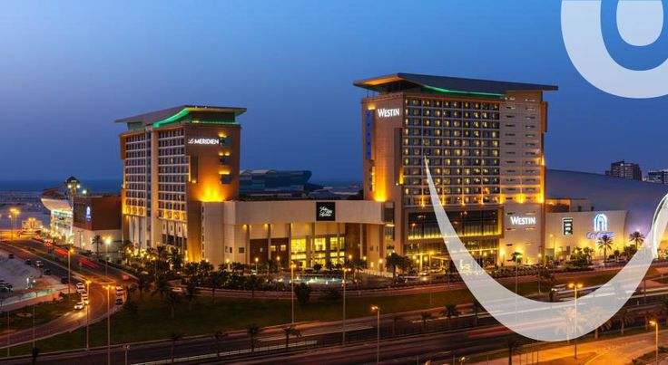 "Visit Bahrain and stay in ""THE WESTIN BAHRAIN CITY CENTRE""."