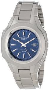 Casio Men's MTP3050D-2AV Classic 10-Year Battery Stainless Steel Dress Watch