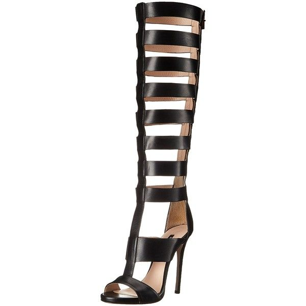 Ruthie Davis Women's Reality Gladiator Sandal ($218) ❤ liked on Polyvore featuring shoes, sandals, gladiator sandals shoes, ruthie davis, gladiator sandals, roman sandals and greek sandals
