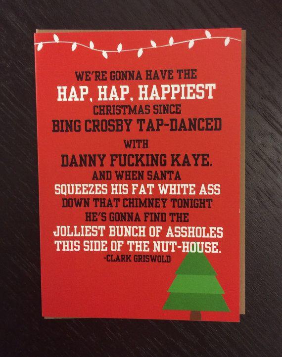 National Lampoons Christmas Vacation- Chevy Chase- Hap Hap