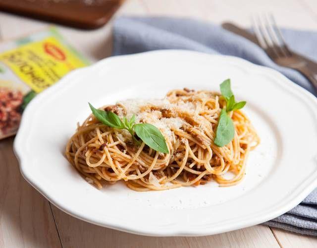 Спагетти болоньез