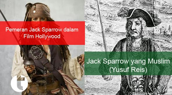 Telah Terungkap! Ternyata Kapten Jack Sparrow yang sesungguhnya adalah Seorang Muslim!