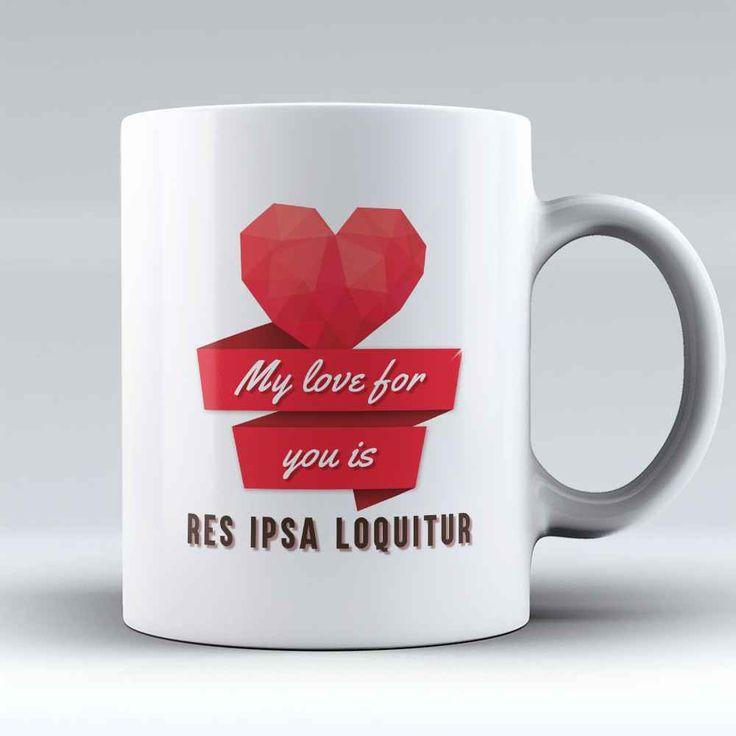 "Limited Edition - ""Res Ipsa Loquitur"" 11oz Mug"